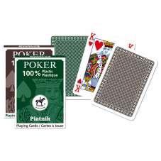 Karty plastikowe - pojedyncza talia