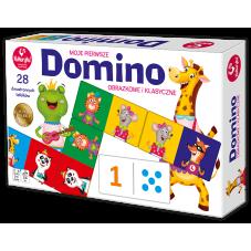 Domino obrazkowe i klasyczne + Gratis Audiobook...