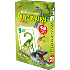 DINOZAURY - karty snap + Gratis Audiobook do...