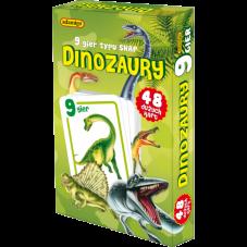 DINOZAURY - karty snap + Gratis Audiobook do...
