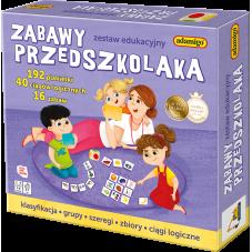 Zabawy przedszkolaka + Gratis Audiobook do wyboru
