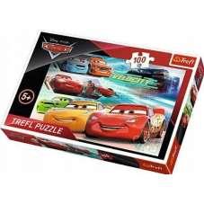 Puzzle 100 - Bohaterowie wyścigu Cars
