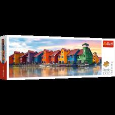 Puzzle 1000 - Panorama Groningen Holandia