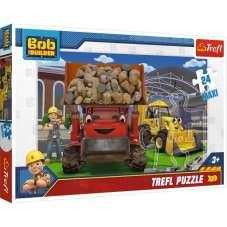 Puzzle 24 maxi Bob budowniczy - damy radę!