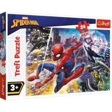 Puzzle 24 maxi - Nieustraszony Spider-man