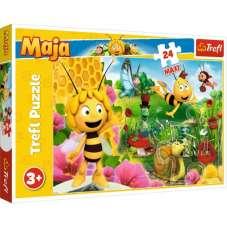 Puzzle 24 maxi - W świecie pszczółki Mai