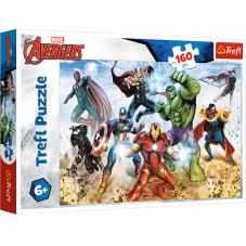 Puzzle 160 -  Gotowi by ratować świat Avenders