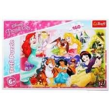 Puzzle 160 - Księżniczki i przyjaciele