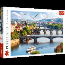 Puzzle 500 - Praga, Czechy