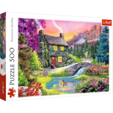 Puzzle 500 - Górska sielanka