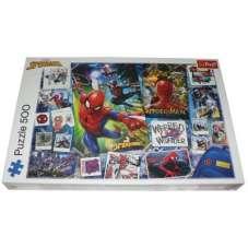 Puzzle 500 - Spider-man plakaty z superbohaterem