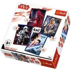Puzzle 4w1 - Gotowi do starcia Star Wars