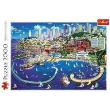 Puzzle 2000 - Zatoka San Francisco