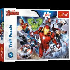 Puzzle 200 - Waleczni Avengersi