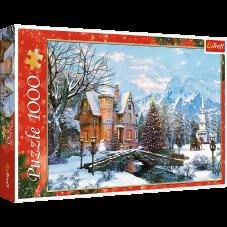 Puzzle 1000 - Zimowy krajobraz