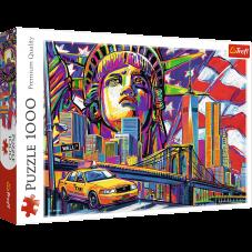 Puzzle 1000 - Kolory Nowego Jorku
