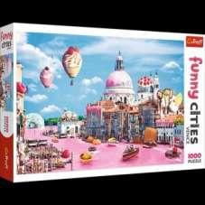 Puzzle 1000 - Słodycze w Wenecji