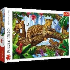 Puzzle 1500 - Odpoczynek wśród drzew
