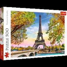 Puzzle 500 - Romantyczny Paryż