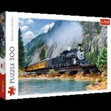 Puzzle 500 - Górski pociąg