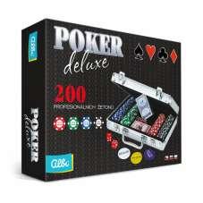 Zestaw pokerowy Deluxe Albi - 200 żetonów