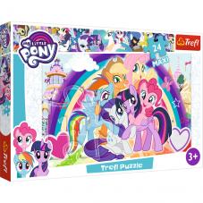 Puzzle 24 maxi - My Little Pony - Szczęśliwe...