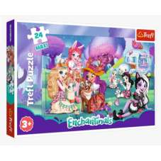 Puzzle 24 maxi - Wesoły świat Enchantimals