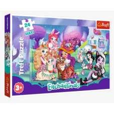 Puzzle 24 maxi - Wesoły świat Enchantimals