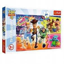 Puzzle 24 maxi - Toy Story w pogoni za przygodą