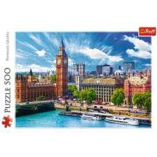 Puzzle 500 - Słoneczny Londyn