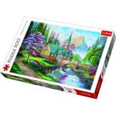 Puzzle 500 - Leśne zacisze