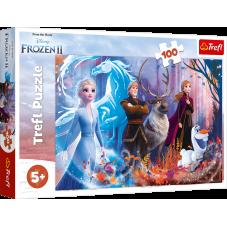 Puzzle 100 -  Magia krainy lodu