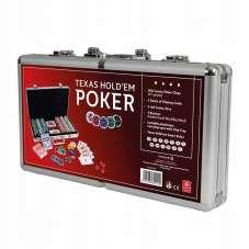 Walizka pokera z zamkiem 300 żetonów - Cartamundi