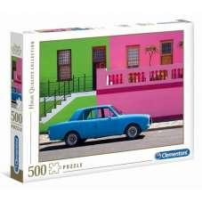 Puzzle 500 - HQ The Blue Car