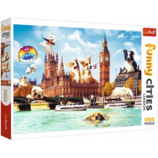 Puzzle 1000 - Funny Cities London