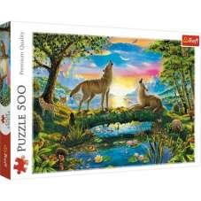 Puzzle 500 - Wilcza natura