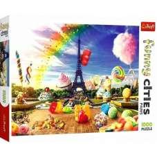 Puzzle 1000 - Słodki Paryż
