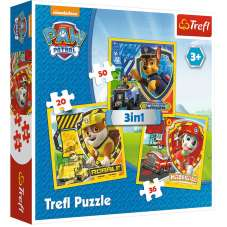 Puzzle 3w1 - Psi Patrol: Marshall, Rubble i Chase