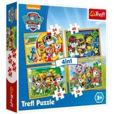 Puzzle 4w1 - Psi Patrol - Trefl