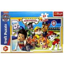 Puzzle Maxi 24 Psi Patrol wesoła drużyna