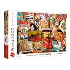 Puzzle 1000 - Kocie słodkości