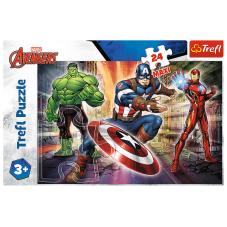 Puzzle Maxi 24 - W świecie Avengersów