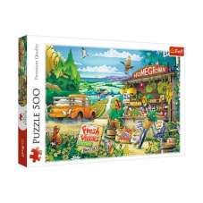 Puzzle 500 - Poranek na wsi