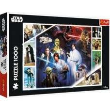 Puzzle 1000 - W odległej galaktyce - Star Wars