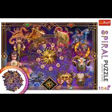 Puzzle 1040 - Spiral Znaki zodiaku