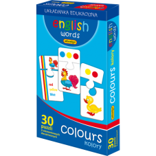 ENGLISH WORDS - COLOURS + Gratis Audiobook do...