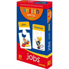 ENGLISH WORDS - JOBS + Gratis Audiobook do wyboru