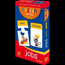 ENGLISH WORDS - JOBS + Gratis Audiobook do wyboru