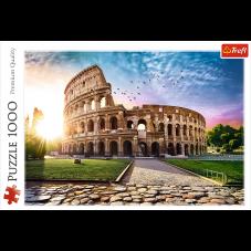 Puzzle 1000 - Koloseum w promieniach słońca