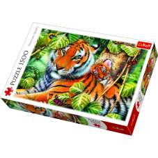 Puzzle 1500 Dwa tygrysy